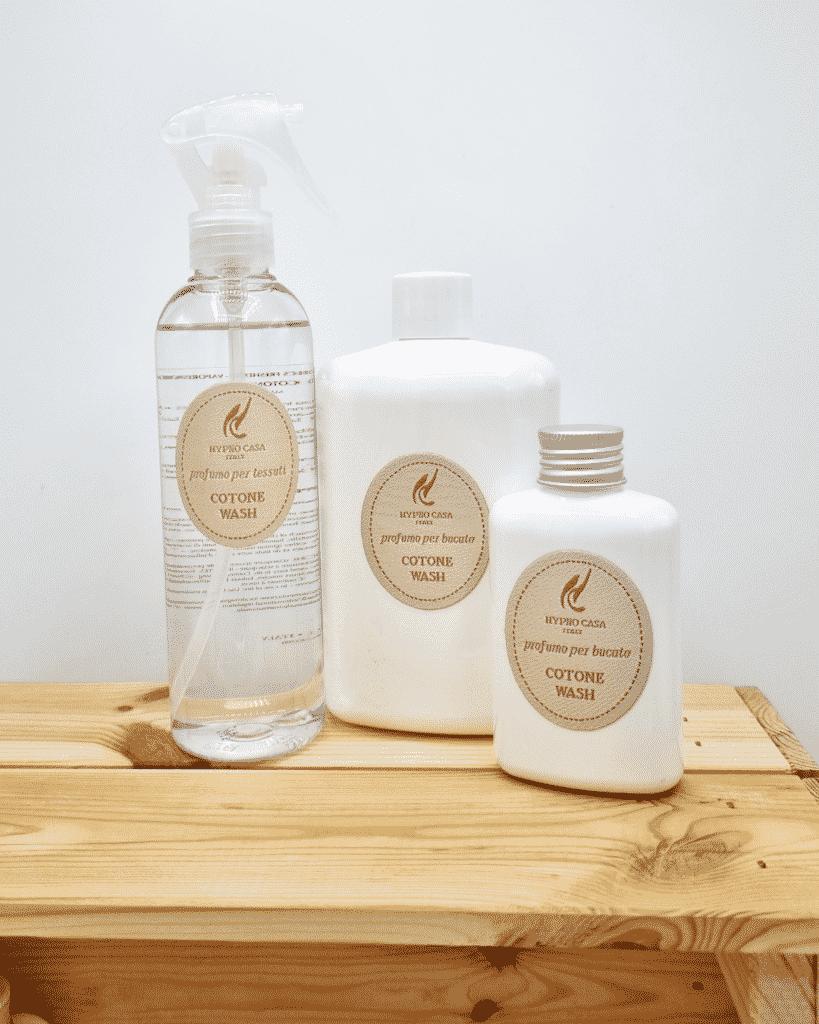 wasparfum en textielverfrisser katoen